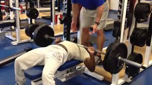 Holyfield Benches 225 Lbs To Failure  YouTubeEvander Holyfield Bench Press