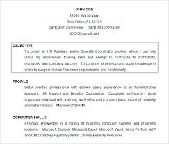 Examples Of Objectives On Resumes Strong Objectives For Resume Major Magdalene Project Org