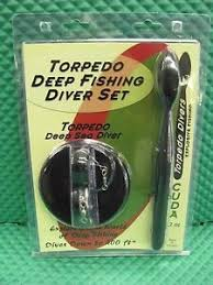 Torpedo Diver Depth Chart Torpedo Deep Diver Black Fishing Set K0010 798304282863 Ebay