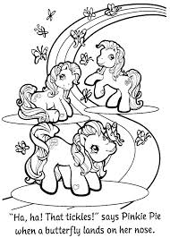My Little Pony Sea Ponies Coloring Pages To Free Download