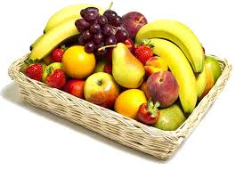 fresh fruit gourmet gift basket