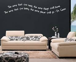 Small Picture The More You Read Vinyl Wall Decal c010 Contemporary Wall