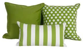 Sunbrella Outdoor Throw Pillows Green White Throw Pillows In Est