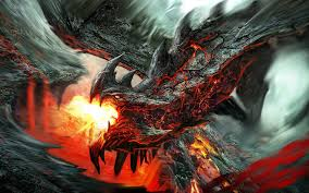 mythical fire dragons