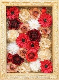 Paper Flower Frame 160 Best Flowers For Frame Images