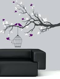 inexpensive wall decals plus inexpensive decal wall art sticker tree branch birds leaf with hanging birdcage remarkable silhouette vinyl wall