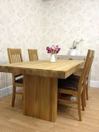 john lewis henry dining table solid oak 4 jl oak leather chairs table seats 8
