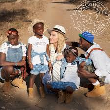 Madonna joined by children for malawi pediatric center madonna and all six of her kids visit the malawi hospital she built 1 year after its opening. Madonna Talks Adopting Twins I Thought Just Do It People Com
