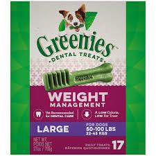 Greenies Weight Management Large Dental Dog Treats 27 Oz