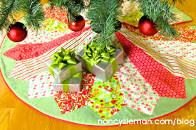 Christmas Tree Skirt Pattern Custom How To Sew A Christmas Tree Skirt With Nancy Zieman Nancy Zieman
