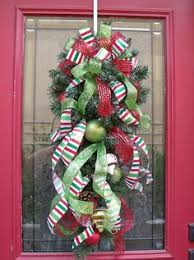 Custom listing for Andrea Christmas Winter by aKnackforDecor | Door hangers  | Pinterest | Winter, Wreaths and Christmas decor