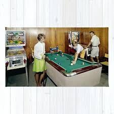 pool table rug game room with pinball and a pool table in the admiral motel in pool table rug
