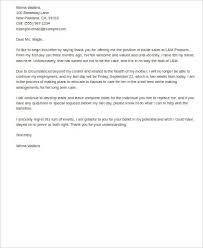 8+ Email Resignation Letter Samples | Sample Templates