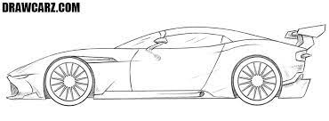 How To Draw A Racing Car
