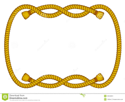 rope frame clipart