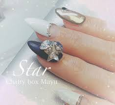 At Chattyboxmayu Chatty Box Mayu Nail Salon 白紺の大人