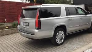 2018 cadillac escalade esv platinum. beautiful platinum starting v8 cadillac escalade esv platinum 62 litre ls7 parking in  small garage 5 intended 2018 cadillac escalade esv platinum e