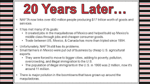 north american trade agreement ppt video online  nafta now links over 450 million people producing 17 trillion worth of
