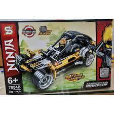 NINJAGO Lego Ninjago Xếp hình Siêu Xe ô tô chiến đấu Kai robot khối hàng  loại 1 7054B