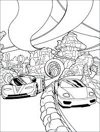 Race Car Coloring Bahamasecoforumcom
