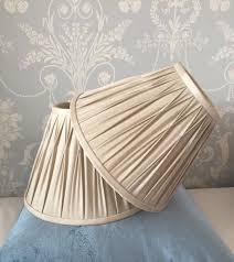 laura ashley x2 12 inch lamp shades in marble colour
