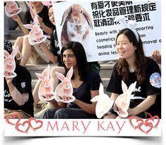 um po na direção certa ativistas e membros de várias empresas dentre elas a mary kay pany pedem o fim dos testes obrigatórios em animais