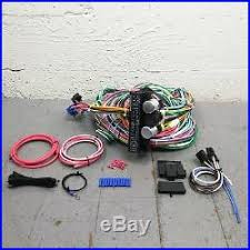 ford wire wiring harness 1965 1966 ford galaxie wire harness upgrade kit fits painless terminal fuse