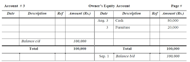 Ledger Example General Ledger Examples I Format I Accountancy Knowledge