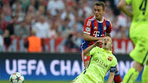 Several leading european clubs were linked with his signature, but the austrian international has finally chosen to continue his career at santiago bernabeu. Fc Barcelona Vs Fc Bayern Munchen So Laufen Die Highlights Goal Com