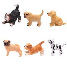 Simulation Mini Hound Dalmatian Pug Dog ...