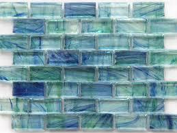 Blue Tiled Bathrooms Turquoise Sea Glass Tiles For The Bathroom Http Agentanpaccom