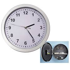 secret clock safe wall jewelry security money cash compartment stash box com