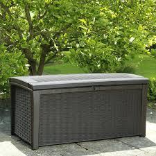 outdoor storage bench costco patio storage bench home design free trial