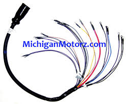 genuine mercruiser engine wire harness 10 pin 3 ft michigan genuine mercruiser engine wire harness 10 pin 3 ft
