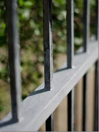 how to paint wrought iron fence 7