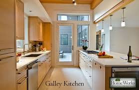Remodeling A Galley Kitchen Kitchen Remodeling Understanding The Kitchen Work Triangle