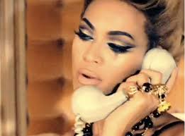 cat eye makeup on beyonce 60s eye make up featuring a guest