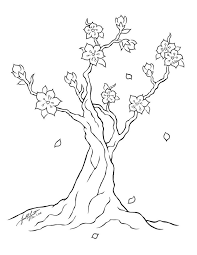 Small Picture Cherry Blossom Coloring Page And Pages fleasondogsorg