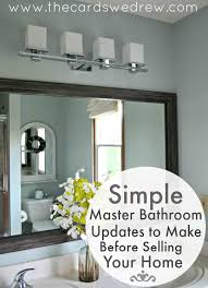 simple master bathrooms.  Bathrooms Simple Master Bathroom Updates To Make Before Selling And Bathrooms L