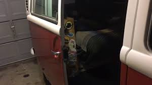 vw bus sliding door