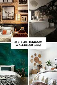 bedroom wall decoration. Stylish Bedroom Wall Decor Ideas Cover Decoration T
