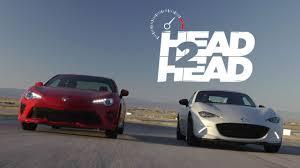 2017 Mazda MX-5 Miata RF vs. 2017 Toyota 86 - Head 2 Head Ep. 89 ...
