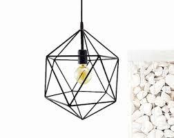 geometric pendant light handmade hanging light cage polyhedron industrial lighting modern metal ceiling lamp geometric globe chandelier chandelier pendant lighting