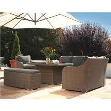 kettler madrid rattan finish garden furniture corner suite