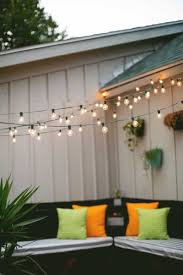 beautiful best way hang string lights outdoors collection also over yard on fence ideas party alcove tips with hanging string lights over patio