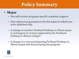 Parkland Pathway To Illinois Orientation Ppt Video Online Download