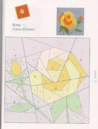 Paper Piecing Flower Paper Pieced Flower Zlatan Fontanacountryinn Com