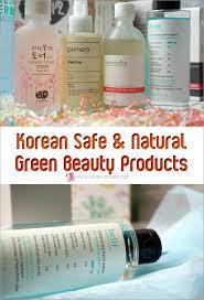 korean natural and organic skin care brands