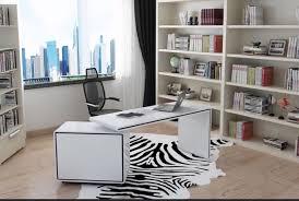 white corner office desk. Vienetta White Gloss Corner Office Desk, All Glossy White, 120 X 60 76 Desk