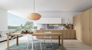 fusion antis euromobil. Euromobil Antis Natural Oak Modern Contemporary Stainless Steel Handle Fitted Italian Kitchen Cabinets Design Ideas White Fusion